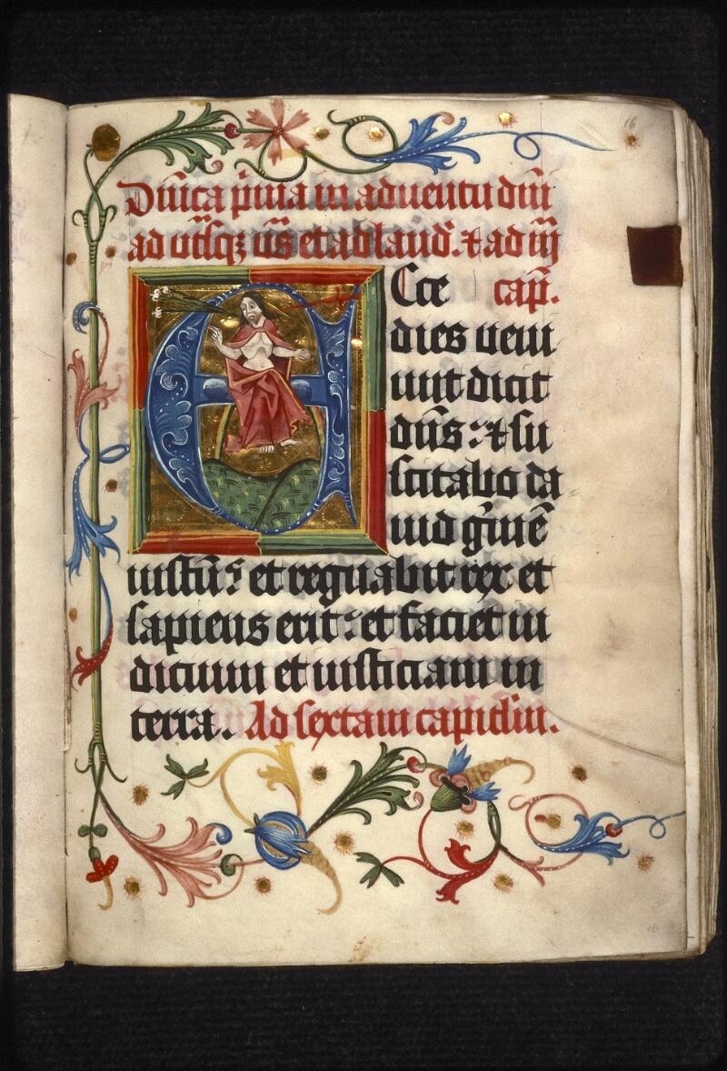 Prague, Musée nat., Bibl., XIII. E. 16, f. 016 - vue 2