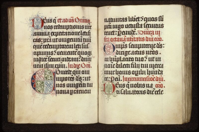 Prague, Musée nat., Bibl., XIII. E. 16, f. 054v-055