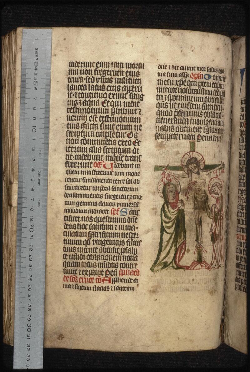 Prague, Musée nat., Bibl., XIV. A. 08, f. 154v - vue 1