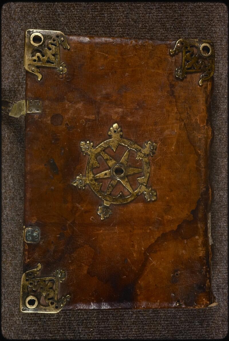 Prague, Musée nat., Bibl., XIV. A. 09, reliure plat inf.