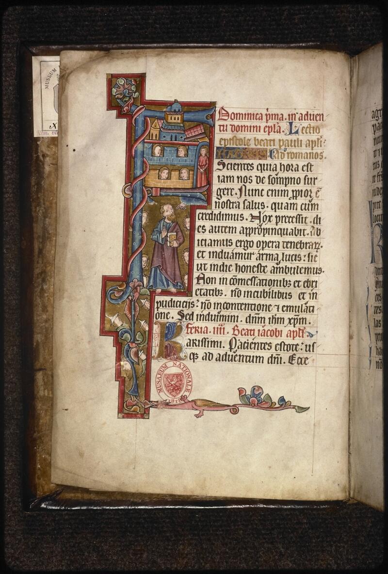 Prague, Musée nat., Bibl., XIV. A. 09, f. 001v - vue 2