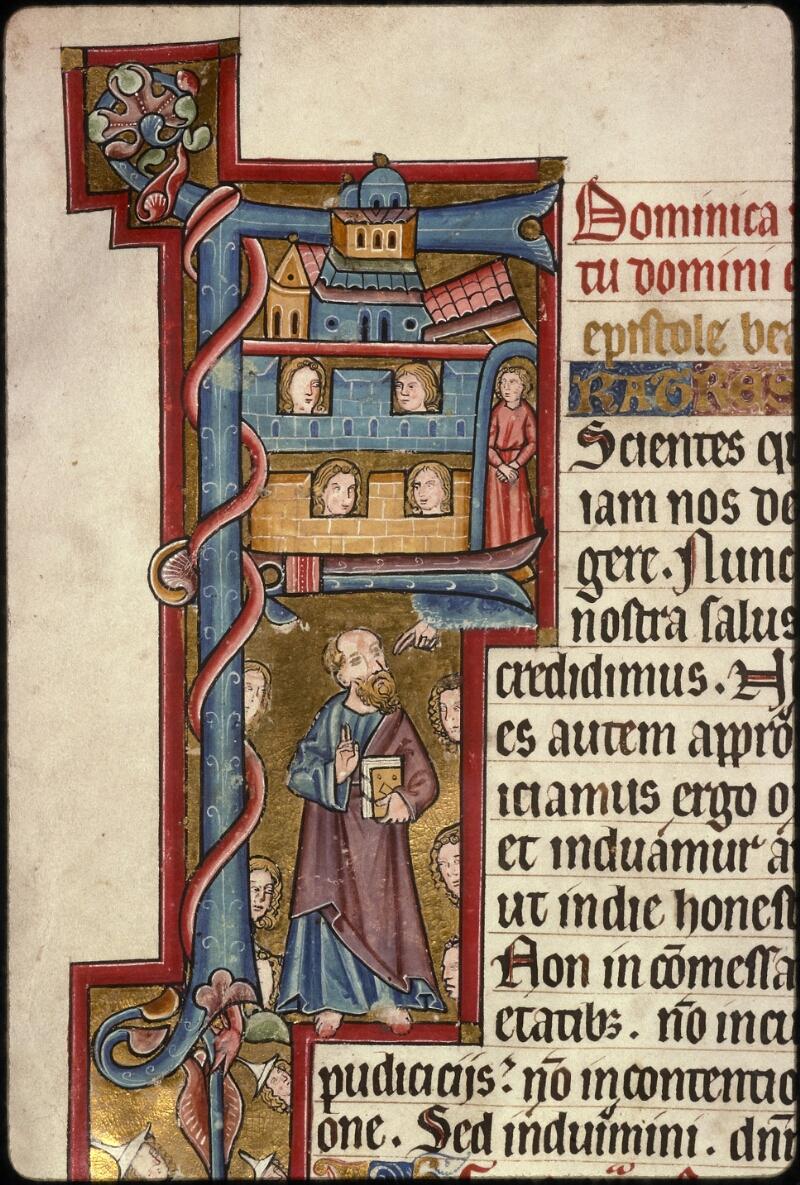Prague, Musée nat., Bibl., XIV. A. 09, f. 001v - vue 3