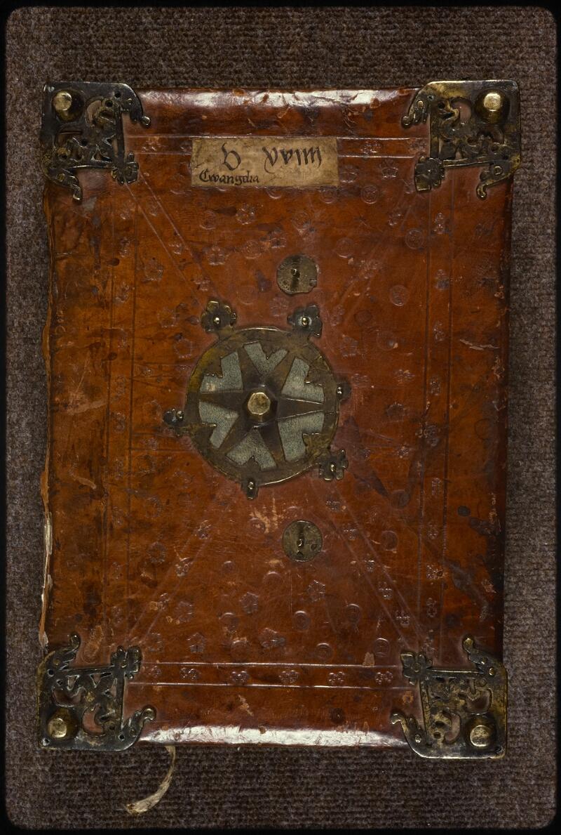 Prague, Musée nat., Bibl., XIV. A. 10, reliure plat sup.