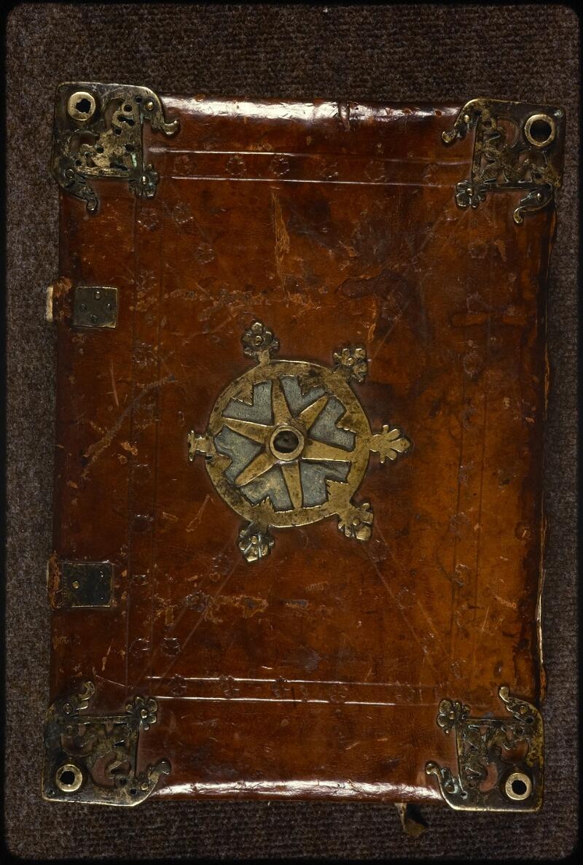 Prague, Musée nat., Bibl., XIV. A. 10, reliure plat inf.