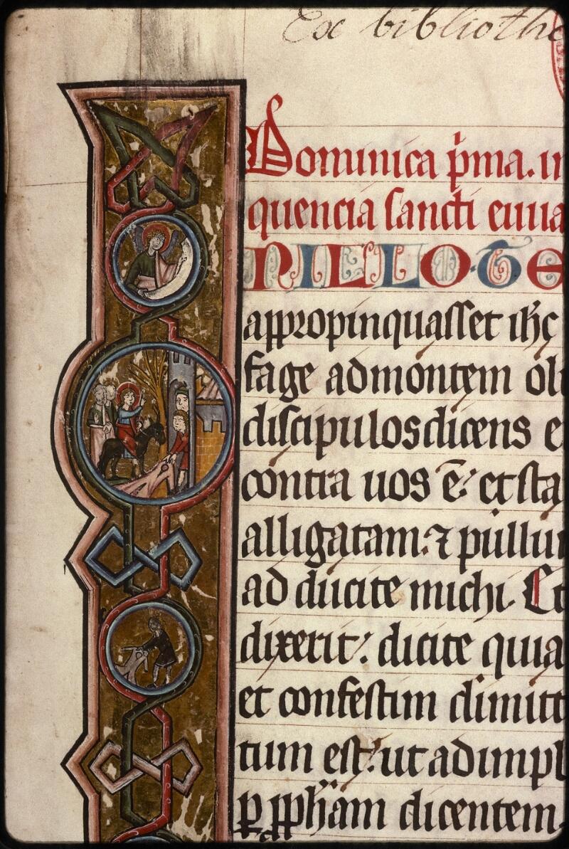 Prague, Musée nat., Bibl., XIV. A. 10, f. 001 - vue 3