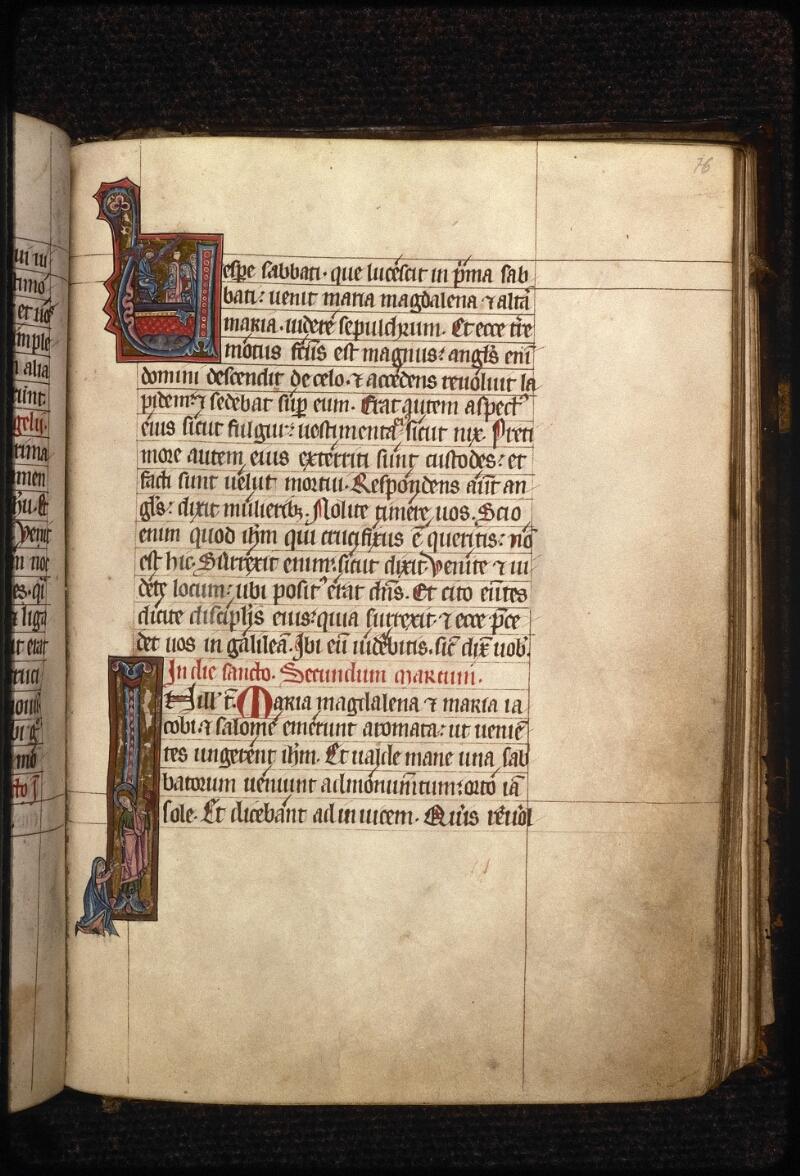 Prague, Musée nat., Bibl., XIV. A. 10, f. 076 - vue 1