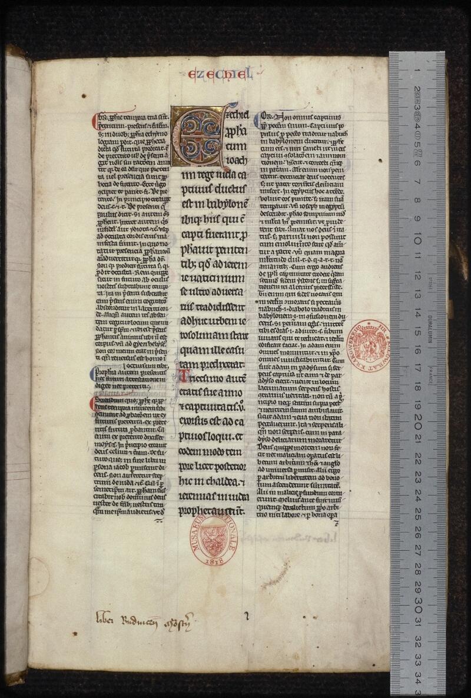 Prague, Musée nat., Bibl., XIV. A. 11, f. 001 - vue 1