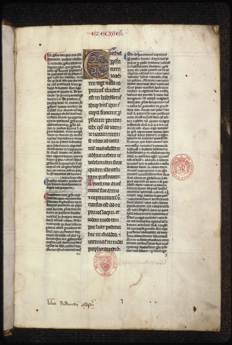 Prague, Musée nat., Bibl., XIV. A. 11, f. 001 - vue 2