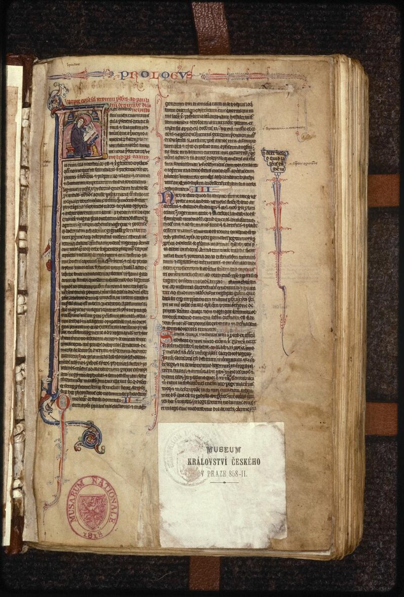 Prague, Musée nat., Bibl., XIV. D. 14, f. 001 - vue 2