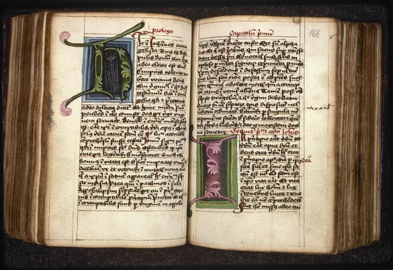 Prague, Musée nat., Bibl., XIV. F. 18, f. 165v-166