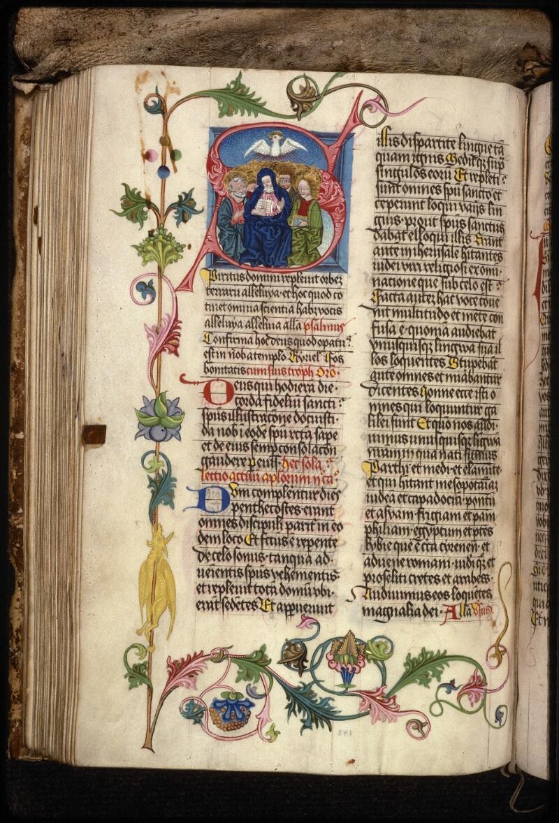 Prague, Musée nat., Bibl., XV. A. 05, f. 142v - vue 1