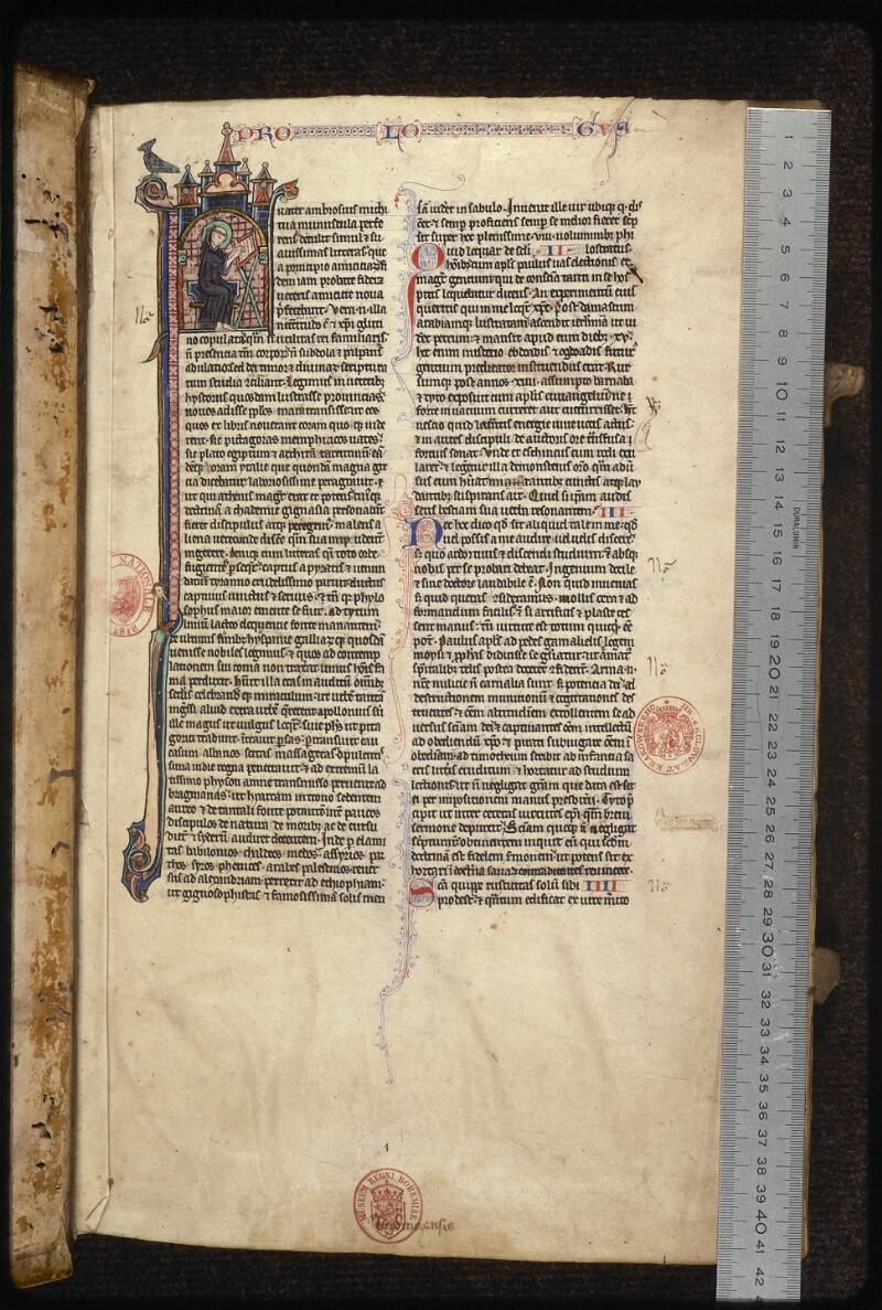 Prague, Musée nat., Bibl., XV. A. 06, f. 001 - vue 1