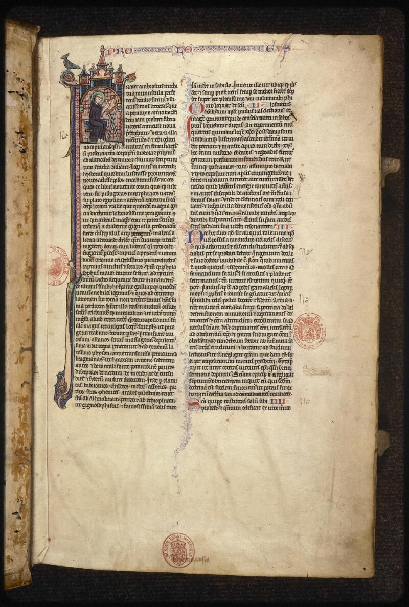 Prague, Musée nat., Bibl., XV. A. 06, f. 001 - vue 2