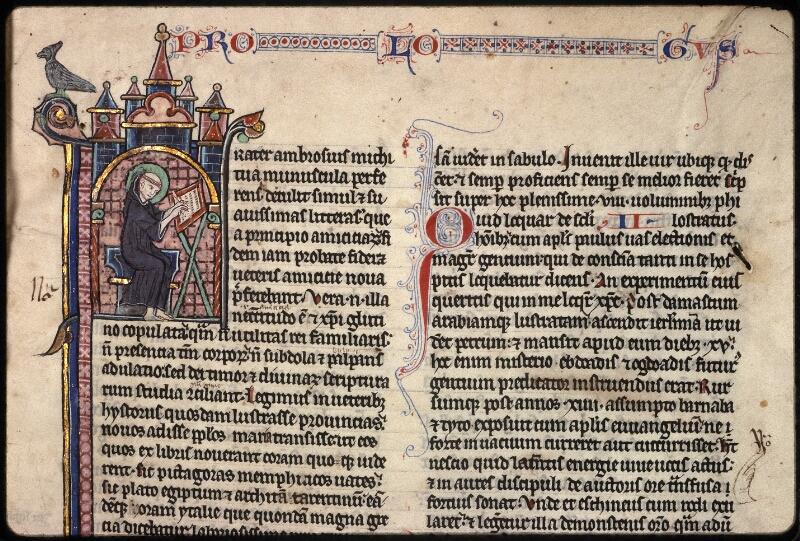 Prague, Musée nat., Bibl., XV. A. 06, f. 001 - vue 3