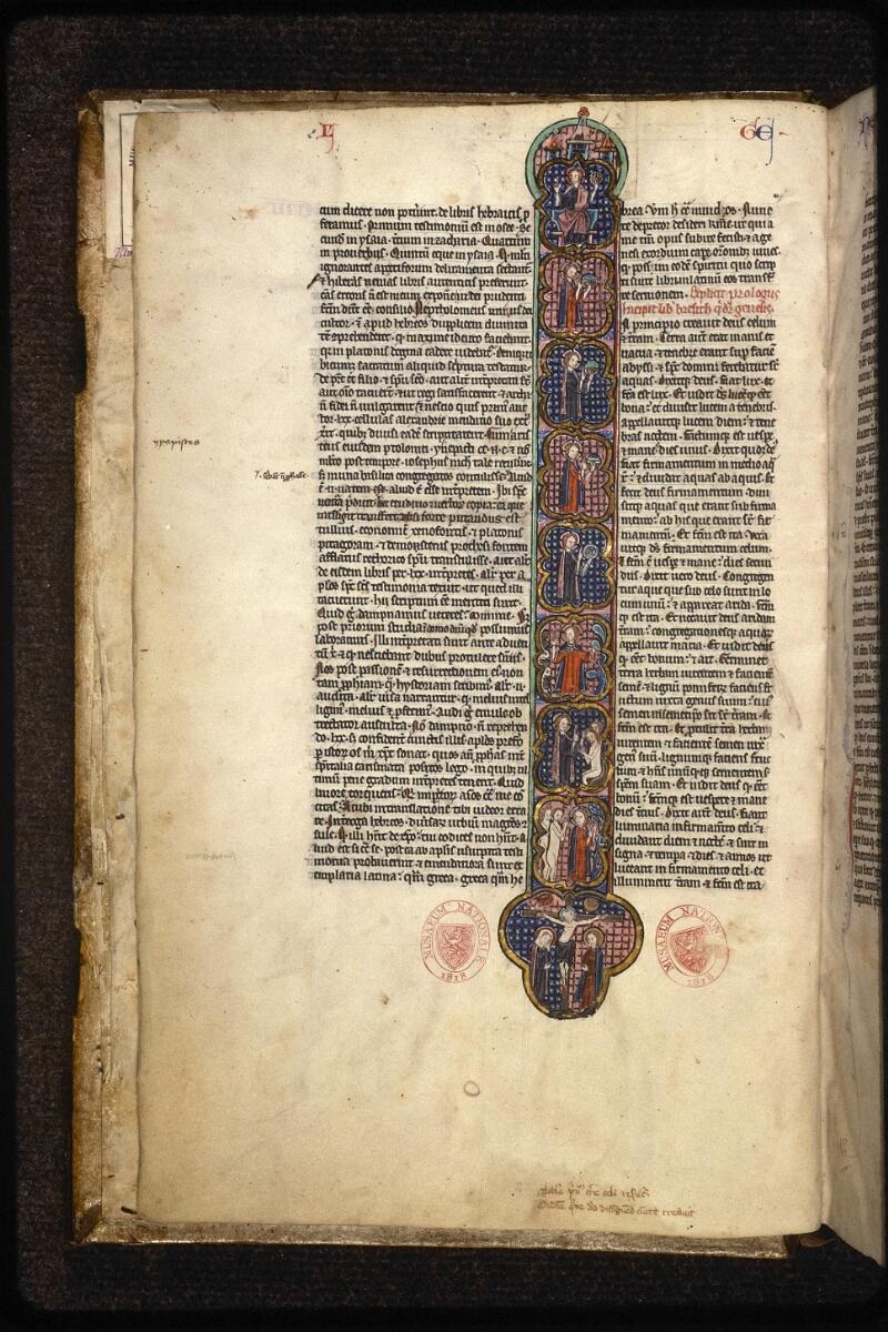 Prague, Musée nat., Bibl., XV. A. 06, f. 003v - vue 1