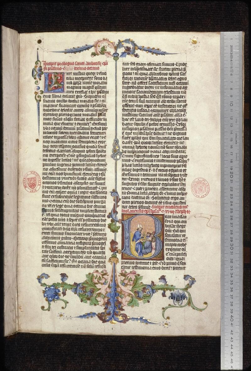 Prague, Musée nat., Bibl., XV. A. 07, f. 001 - vue 1