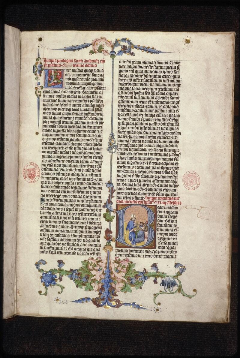 Prague, Musée nat., Bibl., XV. A. 07, f. 001 - vue 2
