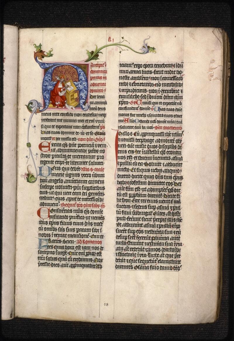 Prague, Musée nat., Bibl., XV. A. 08, f. 018 - vue 2
