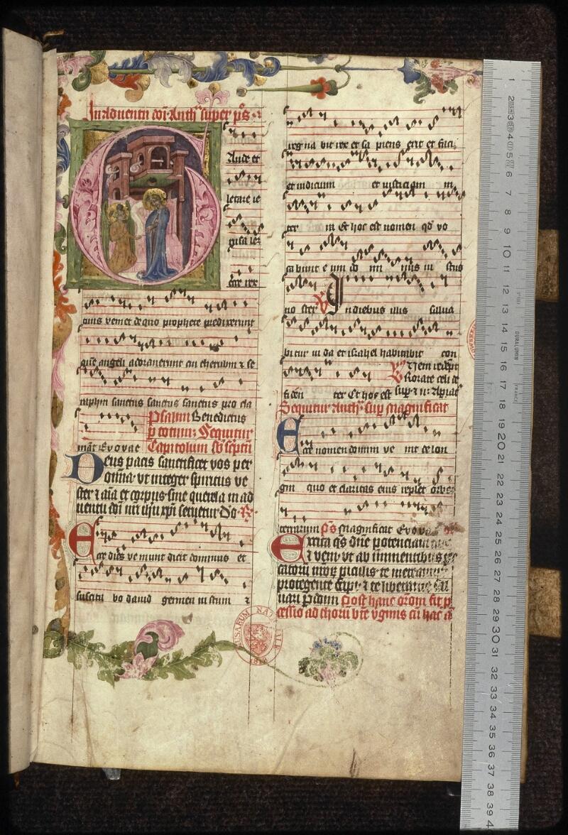 Prague, Musée nat., Bibl., XV. A. 10, f. 007 - vue 1