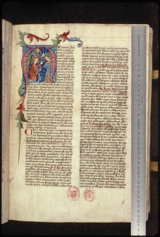 Prague, Musée nat., Bibl., XV. A. 12, f. 019 - vue 1