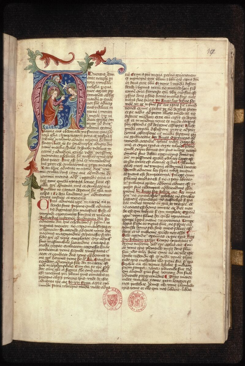 Prague, Musée nat., Bibl., XV. A. 12, f. 019 - vue 2