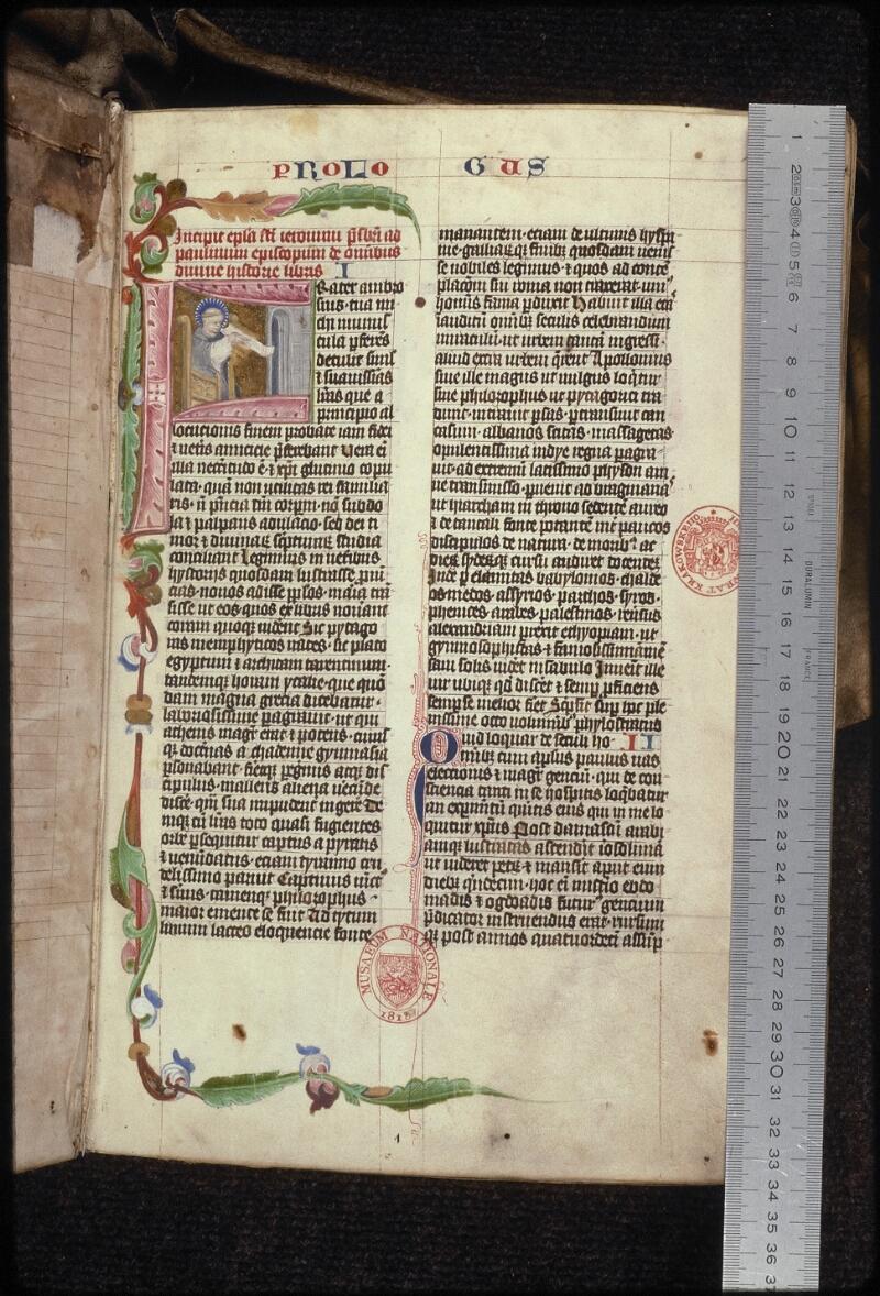 Prague, Musée nat., Bibl., XV. B. 04, f. 001 - vue 1