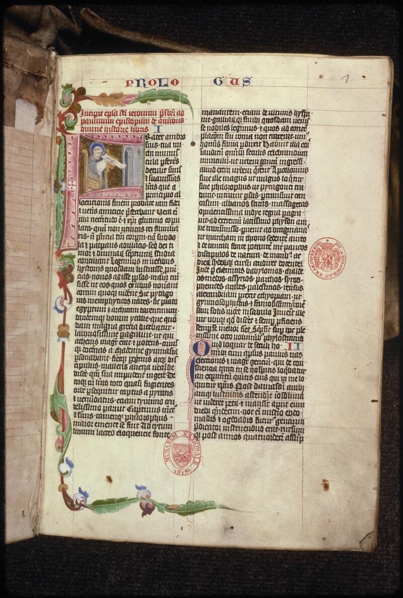 Prague, Musée nat., Bibl., XV. B. 04, f. 001 - vue 2