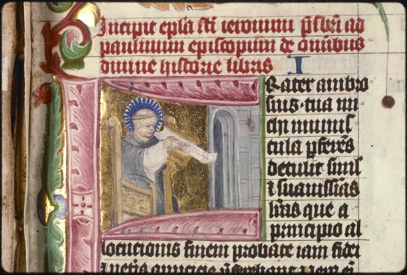 Prague, Musée nat., Bibl., XV. B. 04, f. 001 - vue 3
