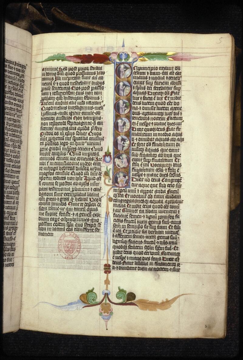 Prague, Musée nat., Bibl., XV. B. 04, f. 005 - vue 1