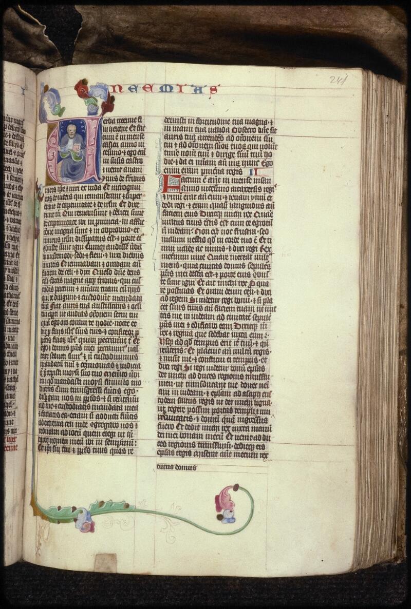Prague, Musée nat., Bibl., XV. B. 04, f. 242 - vue 1