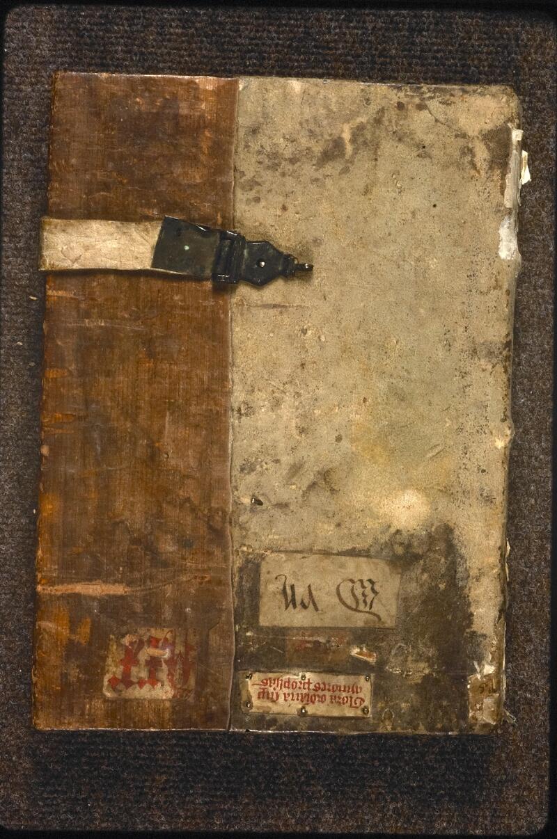 Prague, Musée nat., Bibl., XV. D. 01, reliure plat sup.