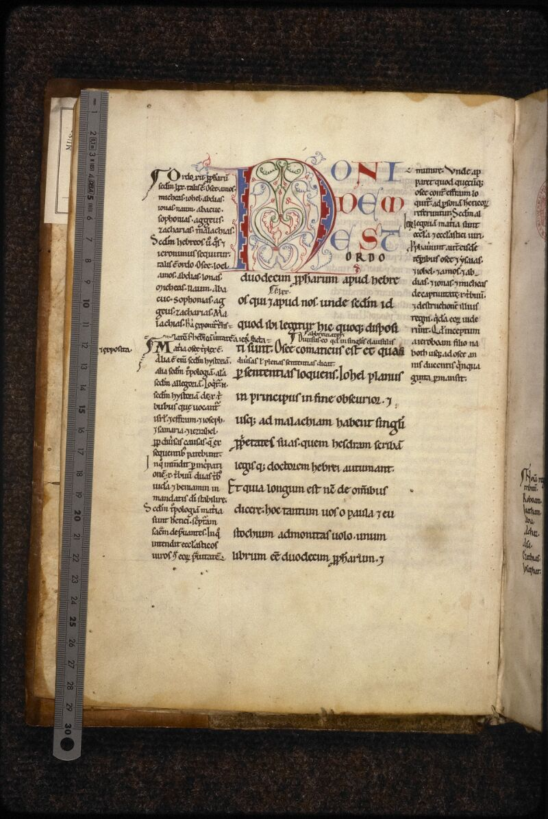 Prague, Musée nat., Bibl., XV. D. 01, f. 002v - vue 1