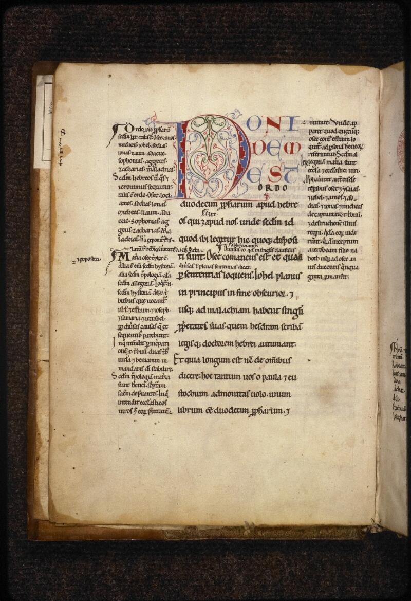 Prague, Musée nat., Bibl., XV. D. 01, f. 002v - vue 2