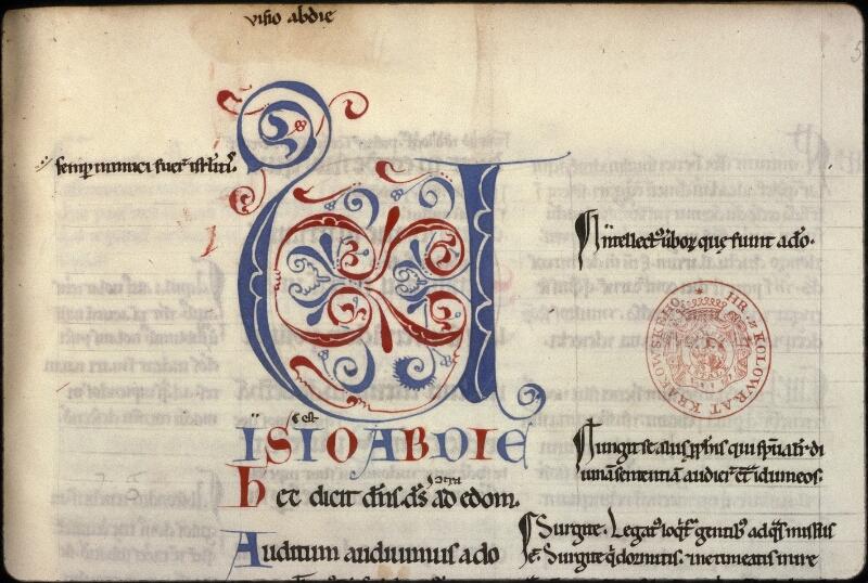 Prague, Musée nat., Bibl., XV. D. 01, f. 058
