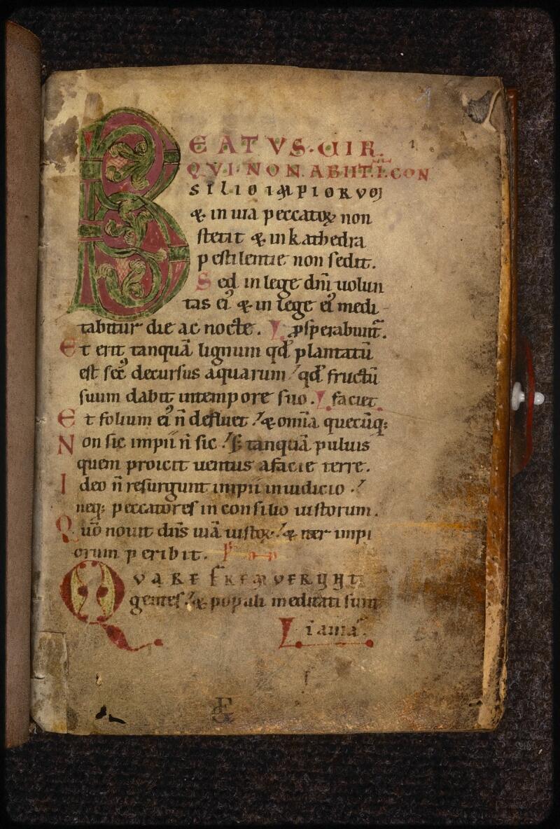 Prague, Musée nat., Bibl., XV. F. 26, f. 001 - vue 2