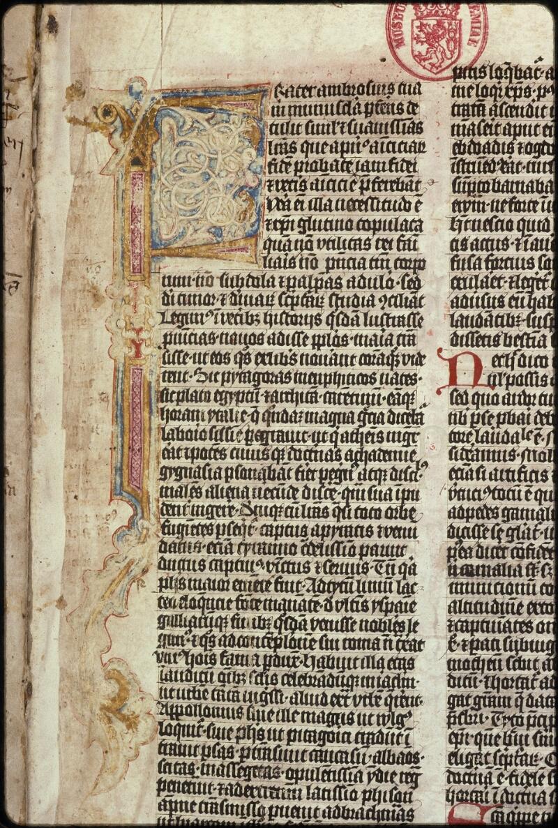 Prague, Musée nat., Bibl., XVI. A. 05, f. 001