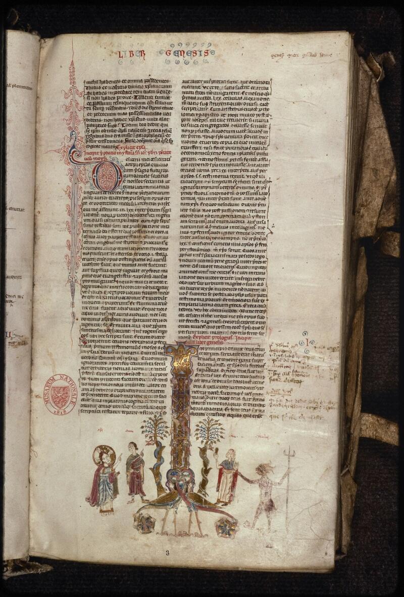 Prague, Musée nat., Bibl., XVI. A. 05, f. 003 - vue 2