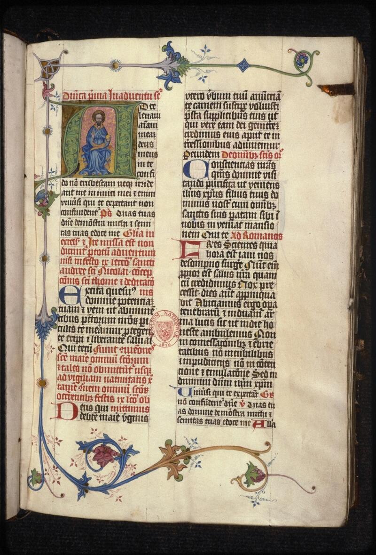 Prague, Musée nat., Bibl., XVI. A. 13, f. 007 - vue 2