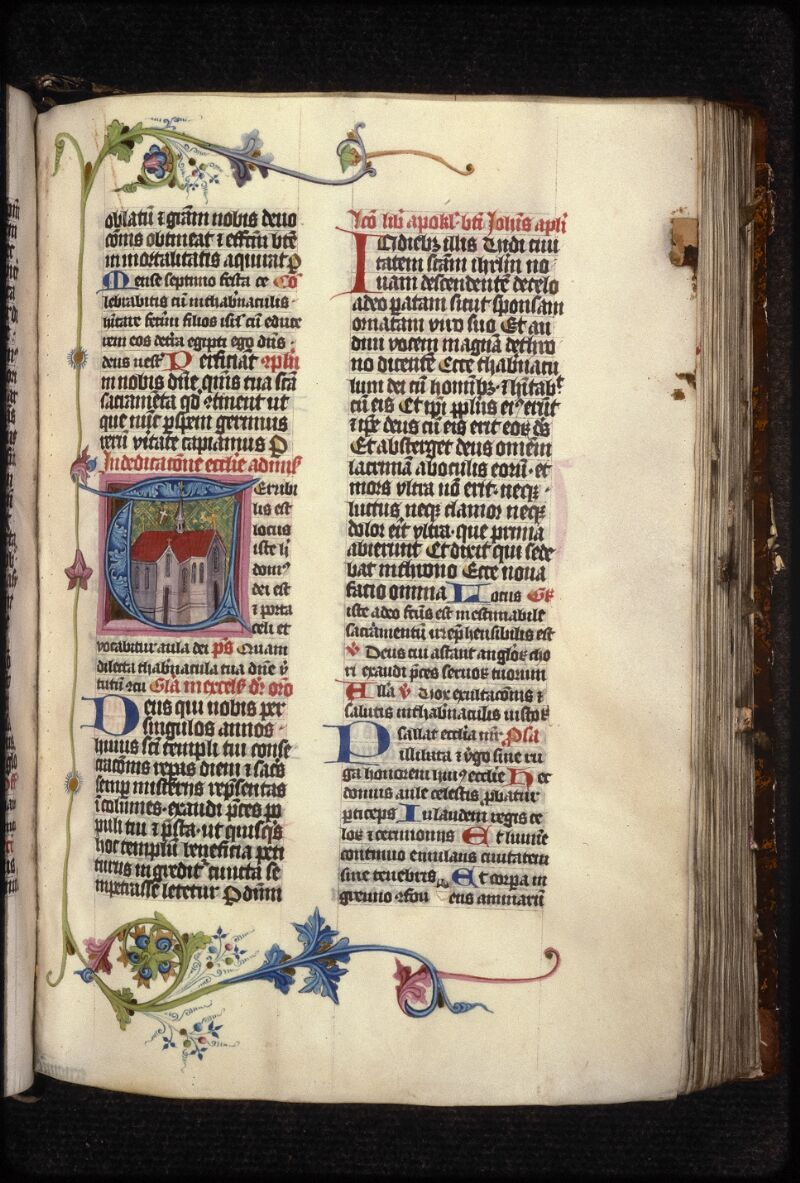 Prague, Musée nat., Bibl., XVI. A. 13, f. 172 - vue 1