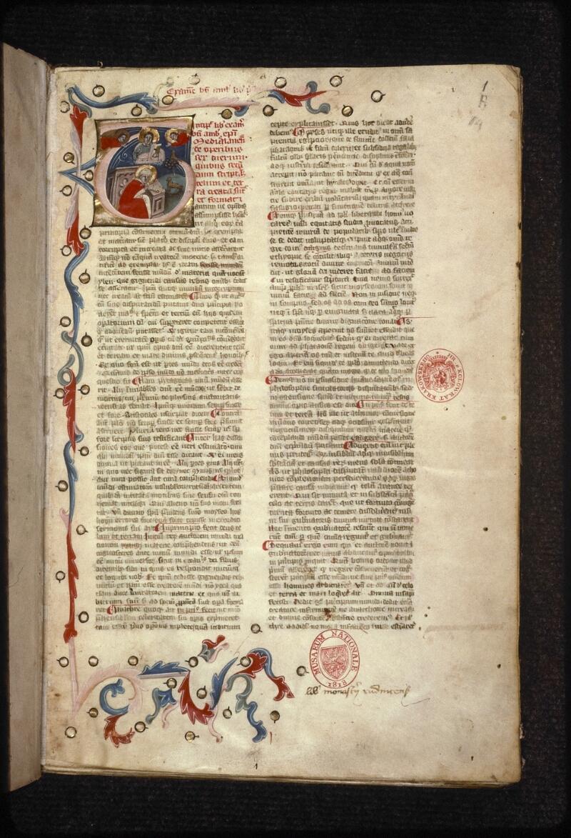 Prague, Musée nat., Bibl., XVI. A. 14, f. 001 - vue 2