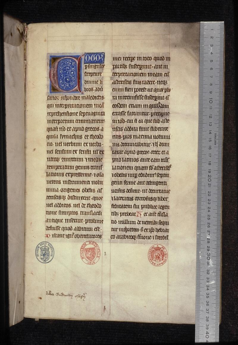 Prague, Musée nat., Bibl., XVI. A. 15, f. 001 - vue 1