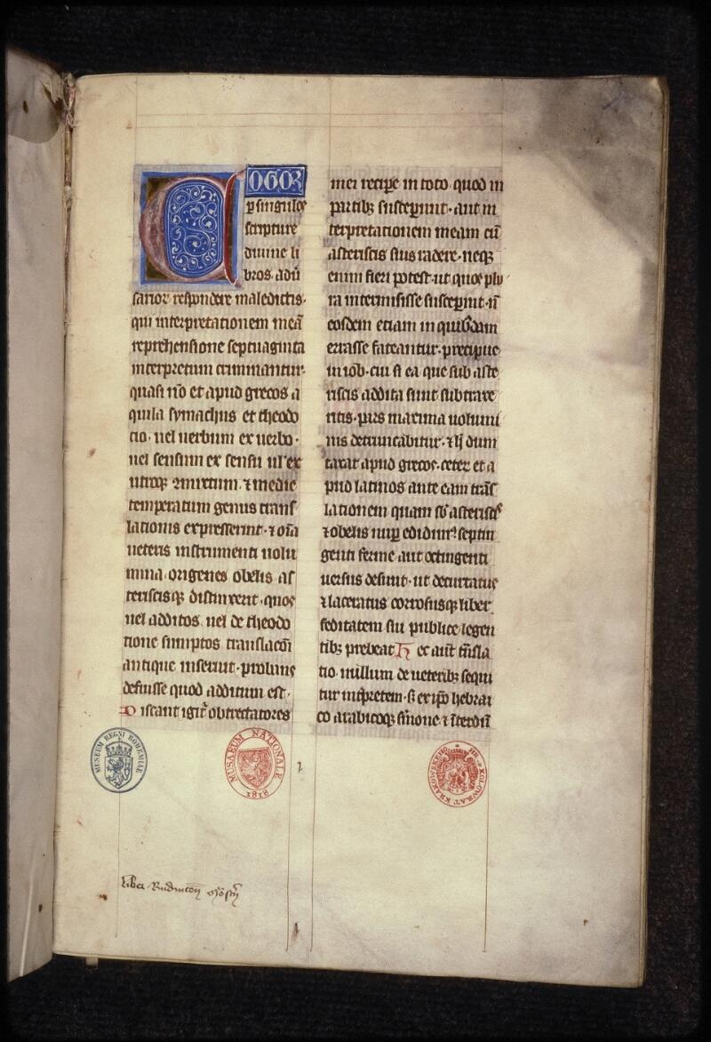 Prague, Musée nat., Bibl., XVI. A. 15, f. 001 - vue 2