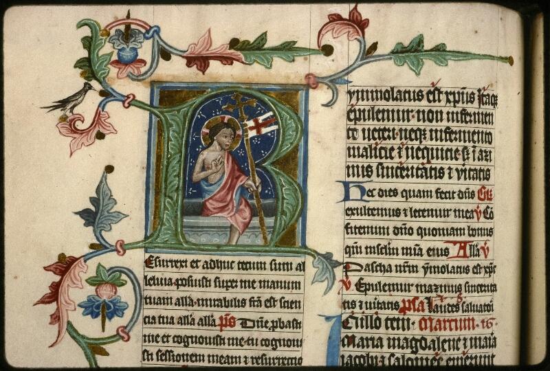 Prague, Musée nat., Bibl., XVI. A. 16, f. 128v - vue 2