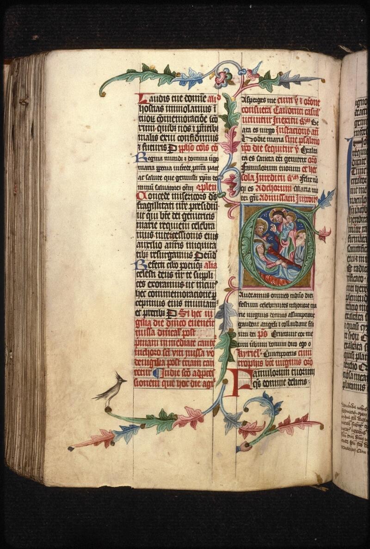 Prague, Musée nat., Bibl., XVI. A. 16, f. 291v - vue 1