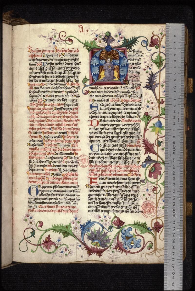 Prague, Musée nat., Bibl., XVI. A. 17, f. 008 - vue 1