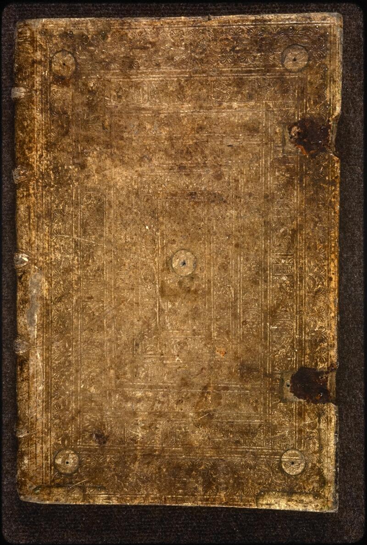Prague, Musée nat., Bibl., XVI. A. 18, reliure plat sup.
