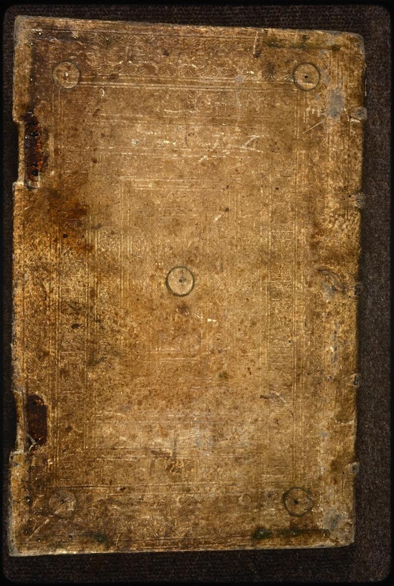 Prague, Musée nat., Bibl., XVI. A. 18, reliure plat inf.