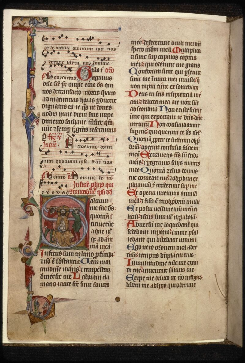 Prague, Musée nat., Bibl., XVI. A. 18, f. 033v - vue 1