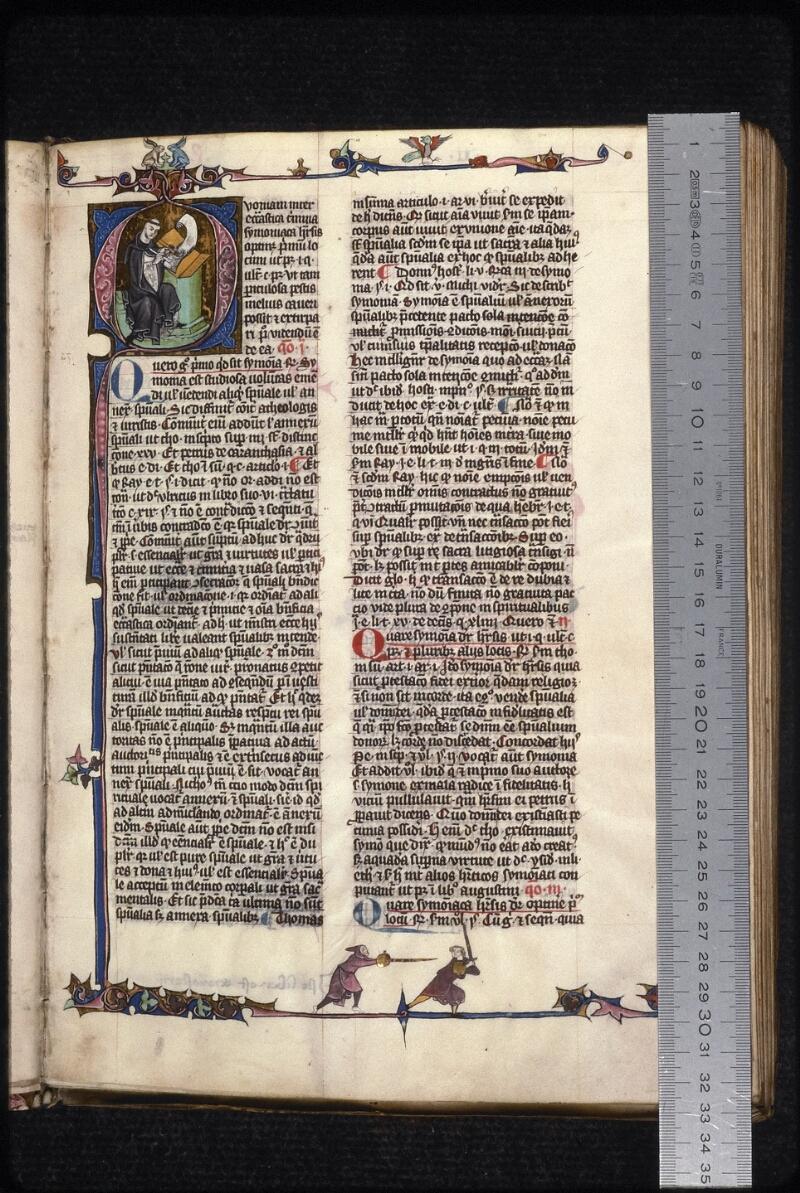 Prague, Musée nat., Bibl., XVI. B. 07, f. 003 - vue 1