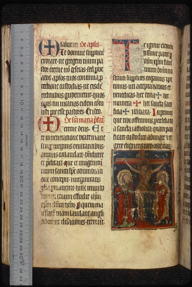 Prague, Musée nat., Bibl., XVI. B. 11, f. 099v - vue 1